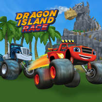 Blaze Dragon Island Race